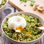 Pesto Poached Perfection Nourish Bowl